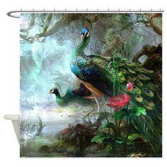 Beautiful Peacock Painting Shower Curtain by Daecu - CafePress Peacock Wallpaper, Peacock Wall Art, Peacock Painting, Iphone Wallpaper, Screen Wallpaper, Mobile Wallpaper, Peacock Images, Peacock Pictures