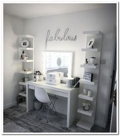 8 Cute Teen Bedroom Ideas Design room ideas for teen girls, bedroom decor for teens, decor teen bedroo Cute Bedroom Decor, Cute Bedroom Ideas, Room Ideas Bedroom, Teen Room Decor, Small Room Bedroom, Bed Room, Adult Bedroom Ideas, Cute Teen Bedrooms, Spare Room Ideas Small