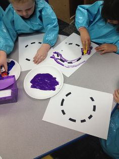C Small Group Activity Students Use Cars To Roll In Paint And Follow Roads