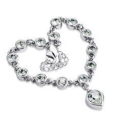 Swarovski Crystal Love Heart Girl  From Crystaljewelryuk.com