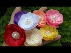 121) Tutorial Simple Sweet Flower - YouTube