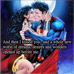 #superman #wonderwoman #love #passion