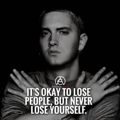 Never lose yourself! Any eminem fans? #success. #quotes #rich #wealth…