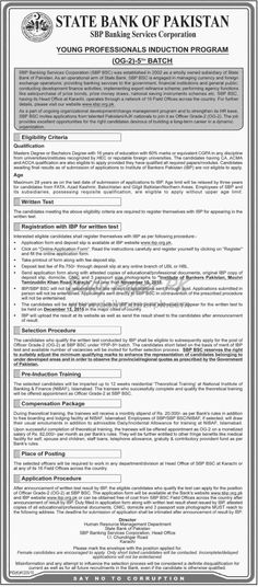Banking Jobs Young Professionals Induction Program State Bank of Pakistan SBP For #jobs detail and how to apply: #paperpk http://www.dailypaperpk.com/jobs/242742/banking-jobs-young-professionals-induction-program-state-bank-pakistan-sbp