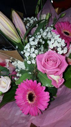 Leaving work flowers!