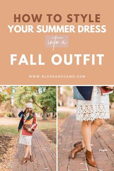 Are you wanting to elevate your fall style without breaking the bank? Let me show you how to make a summer dress into a cozy fall outfit! With this inspiration, you will be giving off some major fall vibes! #stepbystep #cozystyle #fallstyle #fallvibes