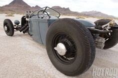 Eddie Barbosa's 1929 Ford Roadster Pickup - The True RPU - HOT ROD Deluxe Magazine