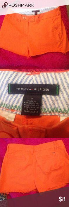 Tommy Hilfiger shorts Size 4 orange Tommy Hilfiger shorts Tommy Hilfiger Shorts