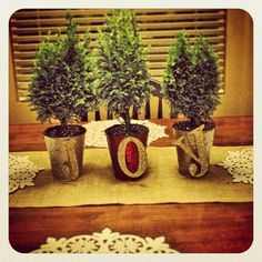 Simple JOY Christmas Trees: A Very Merry Pinterest Tuesday | Junk in the Trunk
