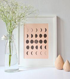 Affiche Lune - Zü