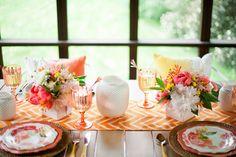 Galleries: Summer Ideas: Warm Watercolors Barbecue - Confetti Pop