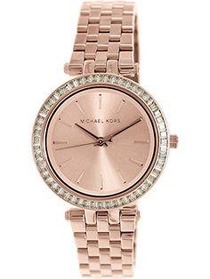 7cc4d3b2763b Michael Kors Women s Darci MK3366 Rose Gold Stainless-Steel Quartz Fashion  Watch