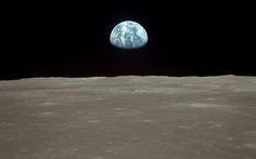 Apollo 11 Earth-rise