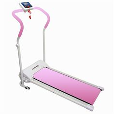 Confidence Fitness Electric Treadmill, Pink - Minute for minute, treadmills are the ultimate fat burning machine, eliminating up to 900 calories an hour. The confidence power plus Treadmill makes them an affordable machine for every household, so. Home Treadmill, Electric Treadmill, Folding Treadmill, Running On Treadmill, Running Machines, Workout Machines, Best At Home Workout, At Home Workouts, Fitness Workouts