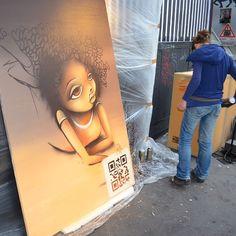 #hellopolys through the eye of street artist vinnie #streetart