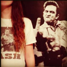 Notorious Johnny Cash Fxxk You tee