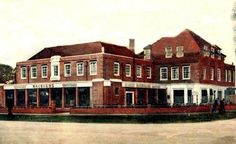 Rose Hill Pub in Rose Hill St Helier Estate Carshalton Surrey England in 1933 London History, Local History, Old London, West London, Sutton England, Sutton Surrey, Old Photos, Vintage Photos, Croydon