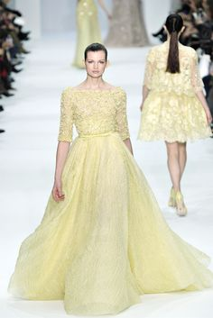 Elie Saab - Haute Couture Spring Summer 2012