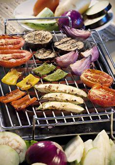 Churrasco vegetariano | Vegetarian barbecue
