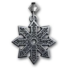 CHAOS STAR Necklace Insigil TYR Nordic VIKING Pendant RUNE Star of Chaos Insigil