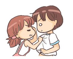 LINE Creators' Stickers - Love Expressions Example with GIF Animation Love Cartoon Couple, Cute Cartoon Pictures, Cute Love Pictures, Cute Love Gif, Cute Love Cartoons, Cute Love Songs, Cute Images, Hd Images, Rain Cartoon
