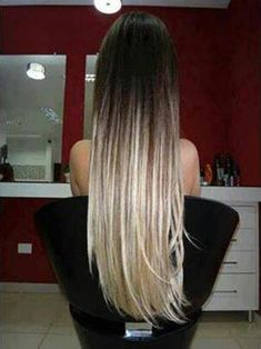 gorgeous hair! Dip dye! would you try this look with your hair!?