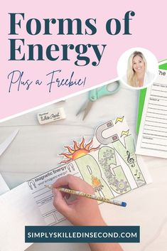 Have your kiddos learn all about different forms of energy and how things work! From light, to wind, even audio, energy travels and works in all different ways! This is a perfect science unit for your primary students, and there's an additional freebie included, so you can guarantee the lesson will be engaging and rigorous! Primary Teaching, Primary Classroom, Teaching Activities, Classroom Resources, Teacher Resources, Science Curriculum, Science Resources, Science Projects, Learning Resources
