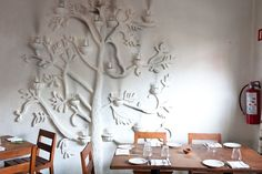 """Maximo Bistrot Local Everything from the furniture and dishes to the food is sourced locally and responsibly at this eatery and, """"it's great for people watching."""""""