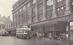 Bull Street, Grey's Store and Birmingham Buses - Birmingham, UK, c1945 | Flickr - Photo Sharing!