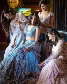 Neeti Mohan's Magical Pre Bridal Shoot With Her Sisters Will Give You Major Sibling Goals - HungryBoo Bridal Poses, Pre Wedding Photoshoot, Bridal Shoot, Wedding Poses, Wedding Day, Wedding Shoot, Photoshoot Ideas, Wedding Bells, Wedding Decor