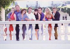 The Best Of The Worst Fashion: Beverly Hills 90210 Beverly Hills 90210, Best Tv Shows, Favorite Tv Shows, 90210 Cast, The Originals Tv Show, Jason Priestley, Brian Austin Green, Jennie Garth, Shannen Doherty