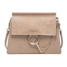 Chloe Medium Faye Bag ($1,950) ❤ liked on Polyvore featuring bags, handbags, hand bags, chloe purses, man bag, handbags purses and purse bag