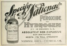 Hydrogen Peroxide Uses & Home Remedies To Try Hydrogen peroxide: National Drug and Chemical Co.Hydrogen peroxide: National Drug and Chemical Co. Household Cleaning Tips, Cleaning Recipes, Diy Cleaning Products, Cleaning Hacks, Charcoal Teeth Whitening, Best Teeth Whitening, Hydrogen Peroxide Uses, Cleaners Homemade, Diy Cleaners