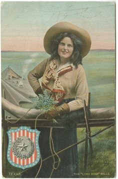 """The """"Lone Star"""" Belle by SMU Central University Libraries, via Flickr"""