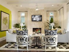 Merveilleux Tropical Family Room Design Ideas, Pictures, Remodel And Decor