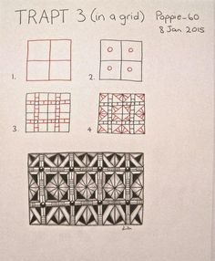 Tangle: Trapt 3 ( in a grid)