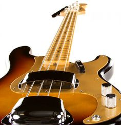 Since its introduction in 1951, the Fender Precision Bass guitar has been one of the most in-demand basses on the market. This iconic recreation is as close as it gets to the real thing in this price range. We encourage side-by-side comparisons. This bass makes you feel like you've stepped back into a different era. With stellar tone, a flawless setup and seamless playability, this American Vintage '58 P Bass keeps the tradition alive and well.