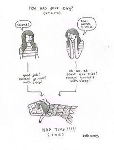 nap reward!
