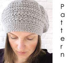 Patrones de boinas tejidas a crochet - Moldes Para Manualidades