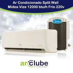 Dica especial para compra imediata!   >> Ar Condicionado Split Wall Midea Vize 12000 btu/h Frio 220v >>  Veja em nosso site: www.arclube.com.br