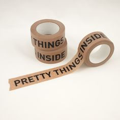 Pretty Things Inside Papier Tape