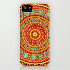 Mandala Aztec Pattern iPhone Case by Maximilian San - $35.00  Aztec, Pattern, Neon, Fluo, Tribal, Love, India, Multicolor,