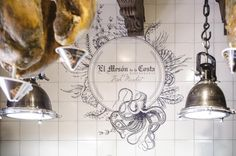 Design for mosaic for spanish restaurant in Torrevieja. Mesón de la Costa