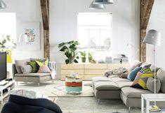 Domov pro extroverta přeje společenskému vyžití. Je pestrý a barevný