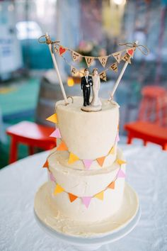 Andrew and Lucy's Colourful Country Wedding
