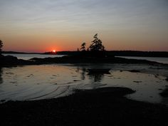 Sunset, Lookout Point, Harpswell, Maine 0092 by John Bald, via Flickr