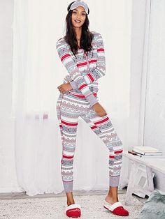 The Fireside Long Jane Pajama - Victoria's Secret