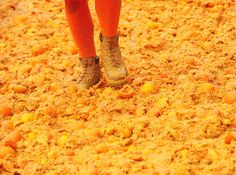 The Battle of Oranges, Ivrea, Italy - February 9th, 2013 .....at leasat it would smell great in the neighborhood that day