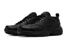 Shop men's slip resistant work shoes by New Balance. With a variety of styles and sizes, men's non slip work shoes will keep you safe without sacrificing style. All Black Sneakers, Black Shoes, Mens Work Shoes, Teen Boy Fashion, Guy Fashion, Work Fashion, Winter Fashion, Shoes 2017, Black 13