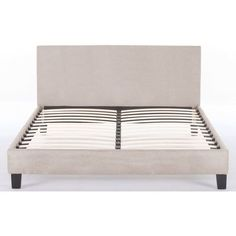 hans king size fabric upholstered bed frame beige buy king size bed frame